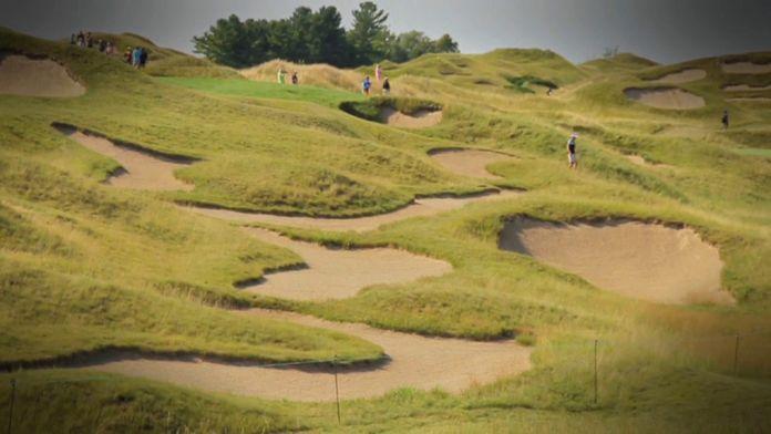 Les bunkers de Whistling Straits : Ryder Cup 2020