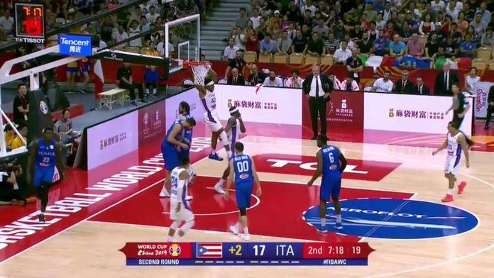 Coupe du Monde FIBA : Le Top 5 du jour