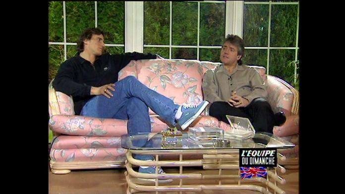 Rétro : quand l'EDD se tournait....chez David Ginola ! : Football - Premier League