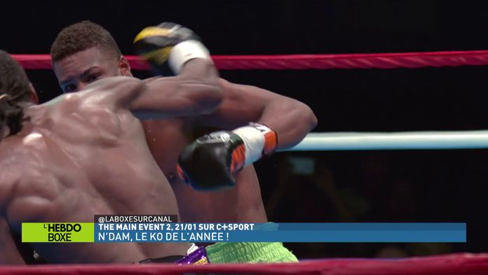 L'incroyable KO d'Hassan N'Dam N'Jikam : KO de l'année 2017