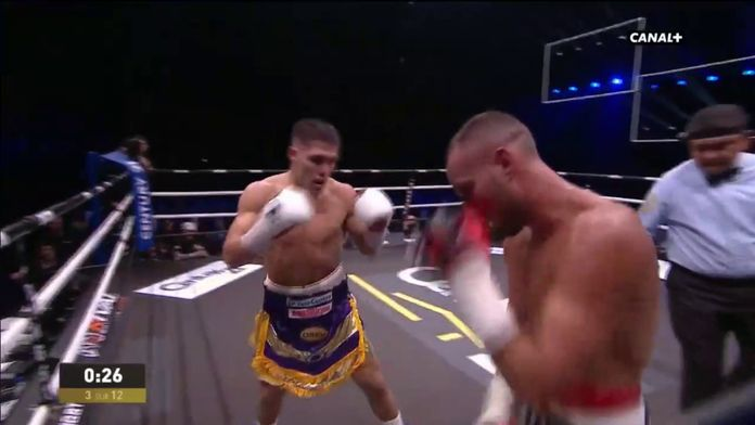 Cédric Vitu battu par Brian Castano : Championnat WBA des super-welters