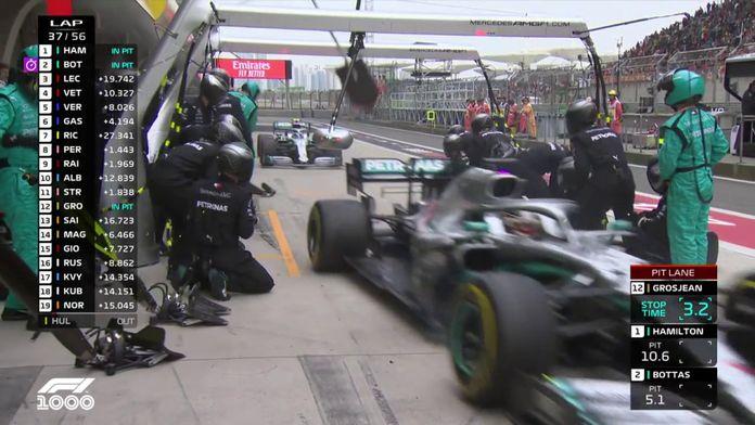 Le double arrêt de Mercedes au GP de Chine 2019 : Le meilleur de la Formule 1, seulement sur Canal+