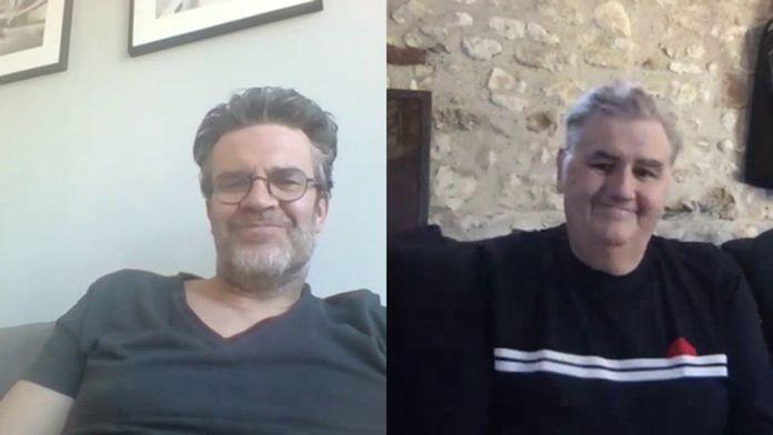 Pierre Ménès donne des nouvelles rassurantes à Hervé Mathoux : Canal Football Club