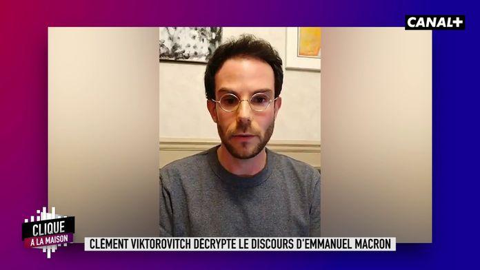 Décryptage du discours d'Emmanuel Macron