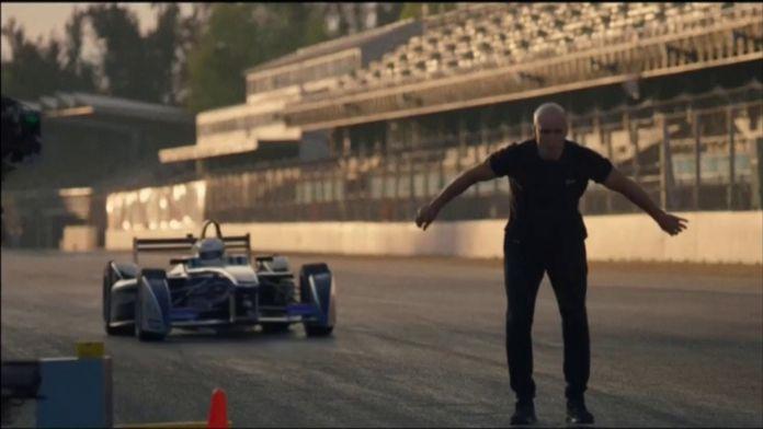 Le Backflip de Damien Walters : Formule E