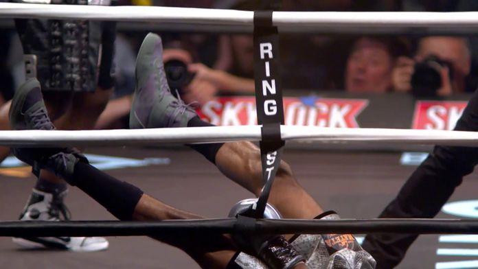 Le TERRIBLE KO de Michel Tavares : Rétro boxe