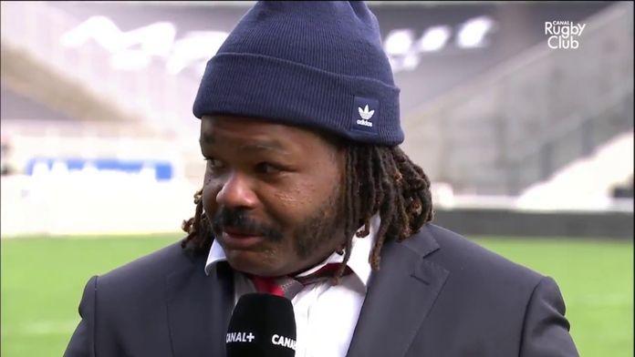 10 novembre 2019 : Mathieu Bastareaud était ému de quitter le LOU. : Canal Rugby Club