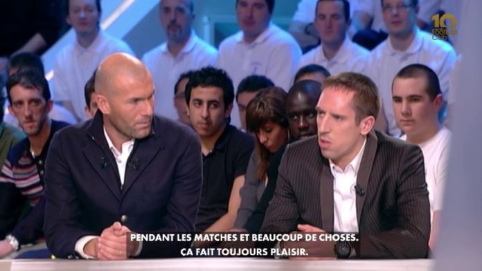 Zinédine Zidane et Franck Ribéry invités exceptionnels : Canal Football Club