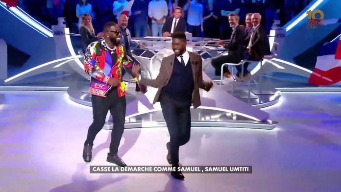 Samuel Umtiti casse la démarche en direct ! : Canal Football Club