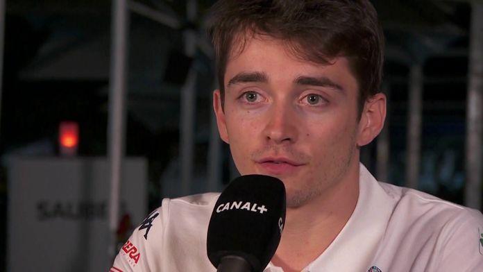 Charles Leclerc, première journée en F1 (2018) : Le meilleur de la Formule 1, seulement sur Canal+