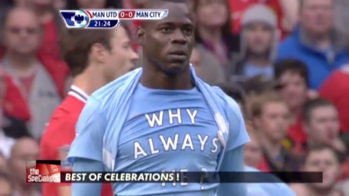 THE best of des célébrations ! : Premier League