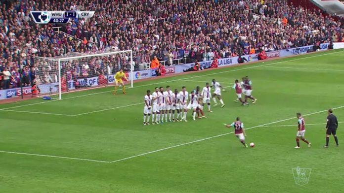 Le sublime coup franc de Dimitri Payet contre Crystal Palace : Football - Retro Premier League
