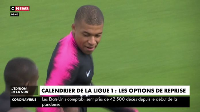 Calendrier : Les différentes options de reprise : Ligue 1 Conforama