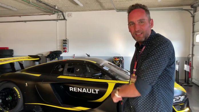 A la découverte de la Renault R.S.01 avec Franck Montagny : Renault sport