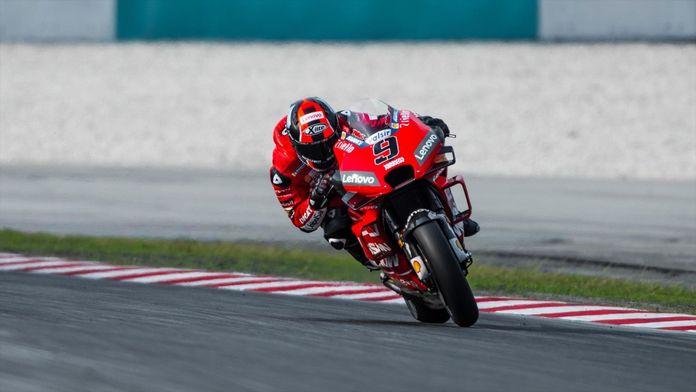 La course des Moto GP