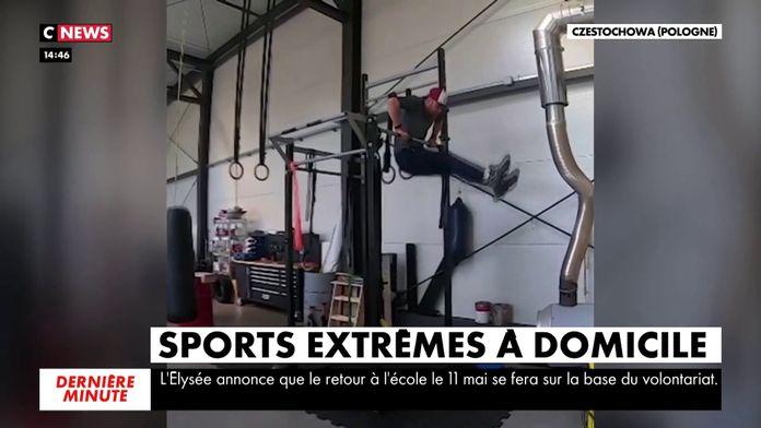 """Sport """"extrêmes"""" à domicile : Sport à la maison"""