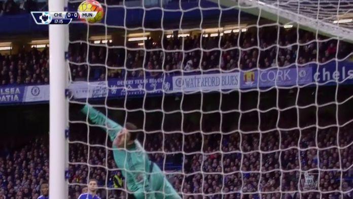 L'incroyable arrêt de Thibaut Courtois : Premier League