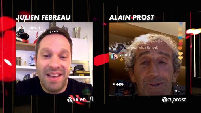 Discussion avec... Alain Prost (en live sur Instagram !) : Le meilleur de la Formule 1, seulement sur CANAL+