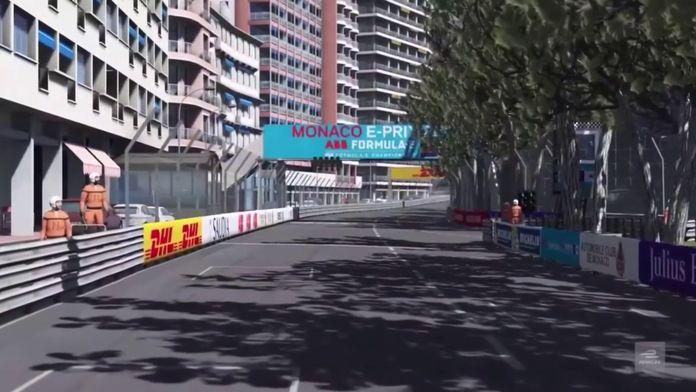 Séance test - Monaco : ABB Formula E Race at Home Challenge