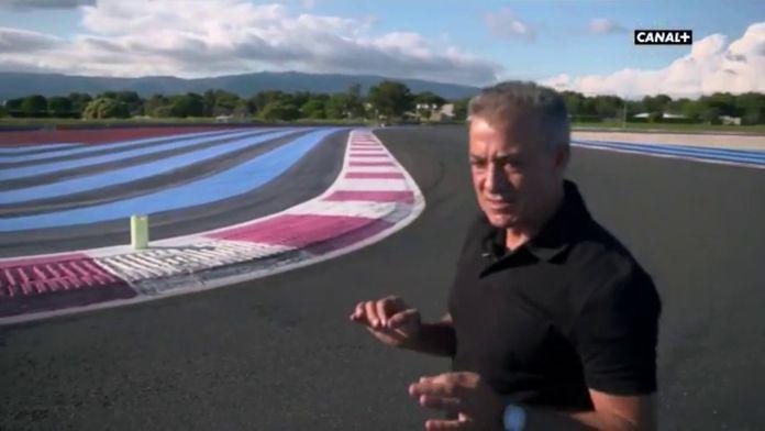 Jean Alesi comme chez lui : Grand prix de France