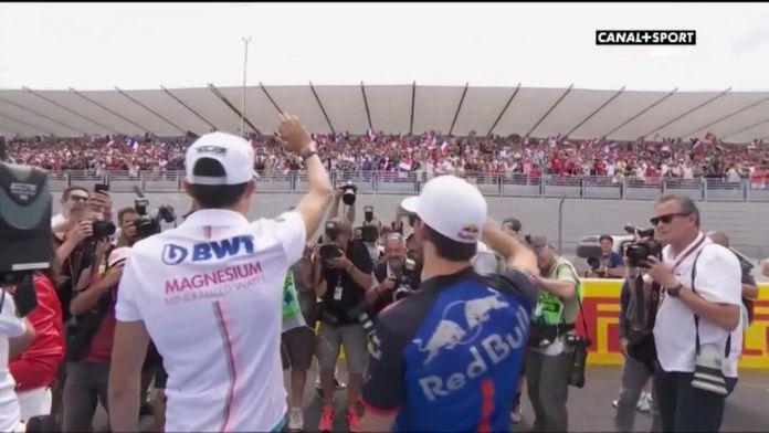 La ferveur des supporters tricolores pour les pilotes français : Grand prix de France