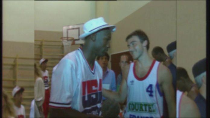 Michael Jordan et la Dream Team à Monaco en 1992 : Retro - Basket : Images d'archives