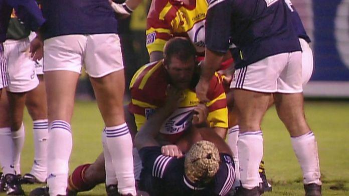 """Les plus """"belles"""" bagarres générales en TOP 14 sur CANAL+ de 1985 à 2013 ! : Retro - Rugby"""