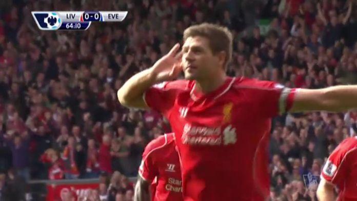 Top but de la légende de Liverpool Steven Gerrard : Premier League