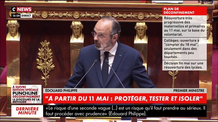 "Edouard Philippe : ""notamment celle de football..."" : Annulation compétions sportives"