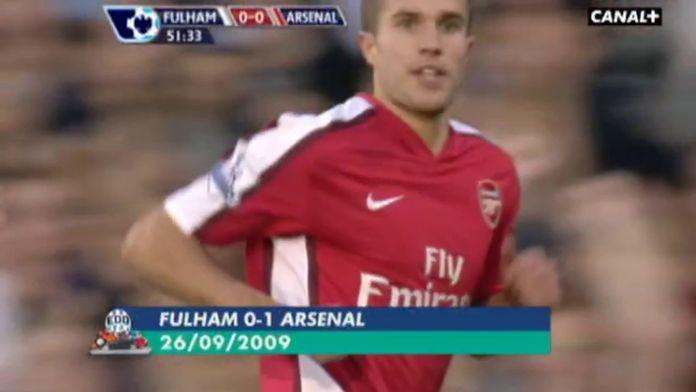 Top 5 de Robin Van Persie avec Arsenal : Rétro Premier League