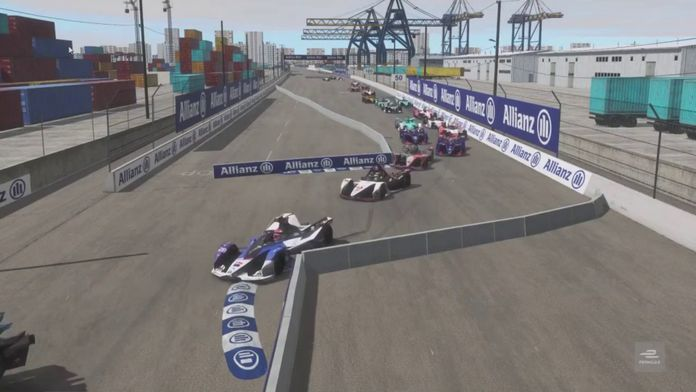 Course 2 - Electric Docks : ABB Formula E Race at Home Challenge