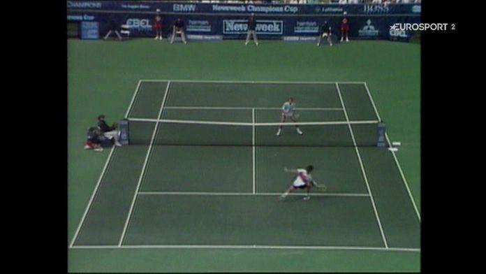 TENNIS : Tournoi d'Indian Wells 1990