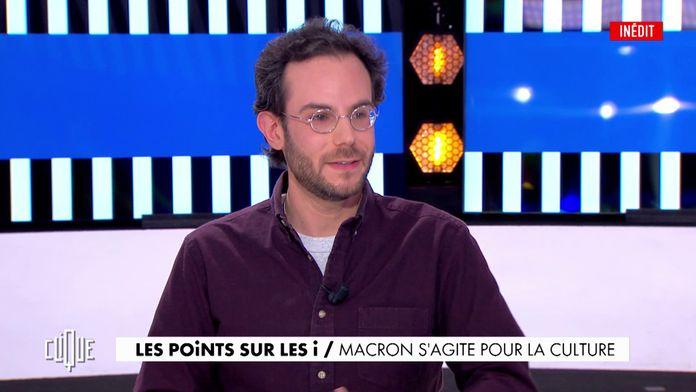 Macron s'agite pour la culture