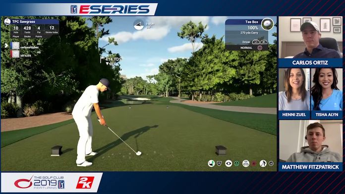 TPC Sawgrass / Ortiz - Fitzpatrick : PGA Tour ESeries - Round 2