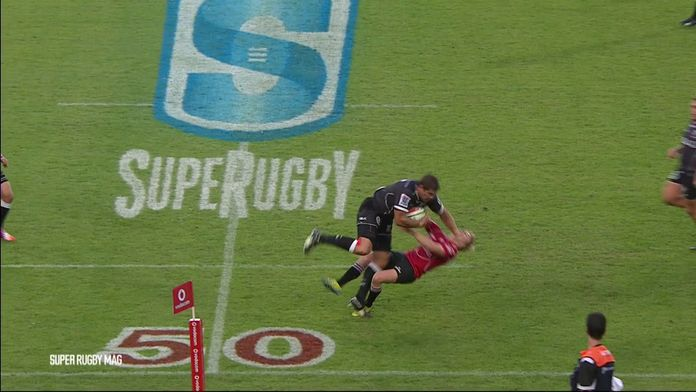 Le tampon monumental de Willem Alberts sur Mark Richards : Retro - SuperRugby