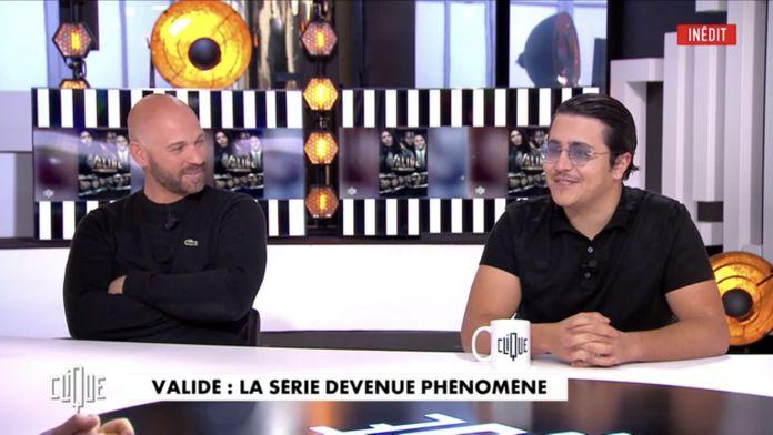 avec Franck Gastambide, Hakim Jemili et Brahim Bouhlel