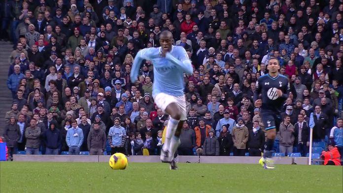 Yaya Touré, la tour de contrôle de Manchester City (2013-2014) : Archives CANAL+