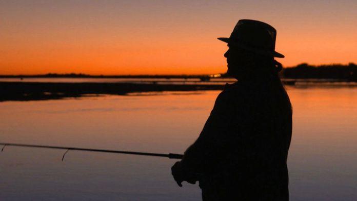 L'effet silhouette, théâtre d'ombre du pêcheur