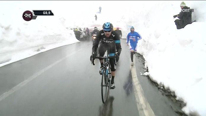 16e étape : Ponte di Legno - Val Martello (139 km)