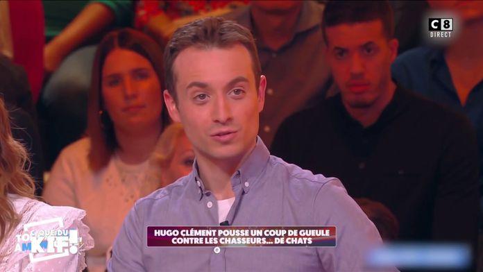 Hugo Clément pousse un coup de gueule contre les chasseurs de chats sur les réseaux sociaux