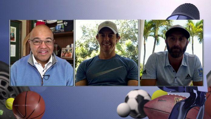Dustin Johnson et Rory McIlroy heureux de faire équipe : Driving Relief