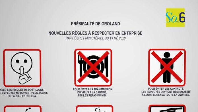 Les règles du déconfinement - Groland - Canal+