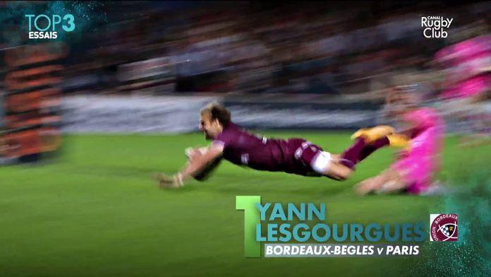 Top 14 : le top 3 des essais de la saison ! : Canal Rugby Club