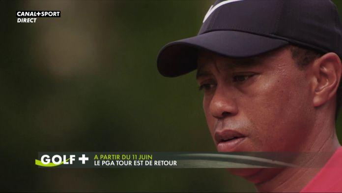 Le PGA Tour est de retour : A partir du 11 juin