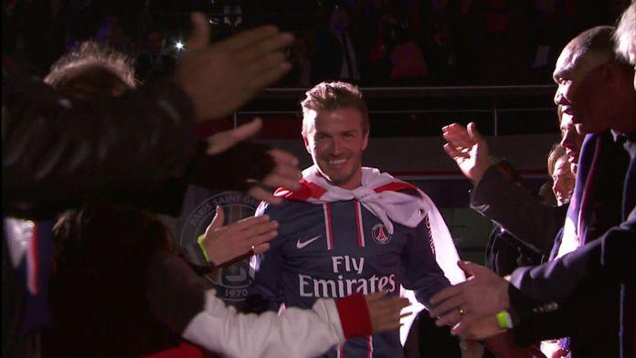 Le discours d'adieu de David Beckham au PSG : Retro - Football