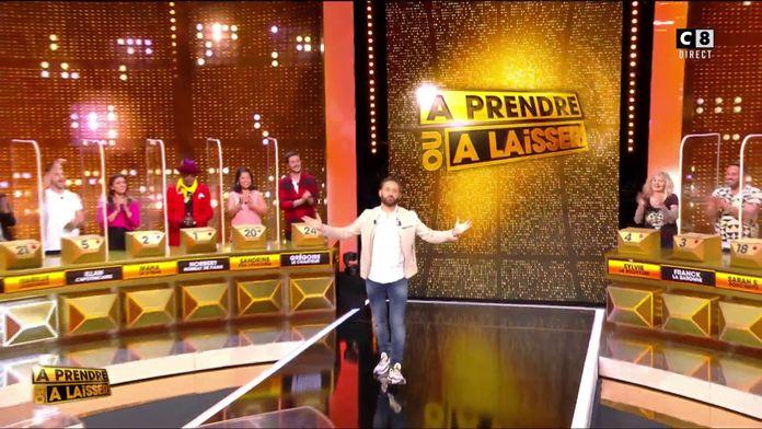 """Cyril Hanouna lance la première de """"À prendre ou à laisser"""""""