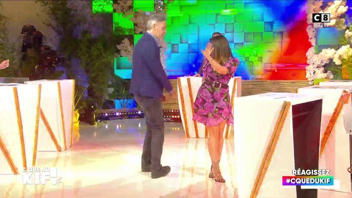 Battle de danse entre Jean-Michel Maire et Maxime Guény avec Valérie, la seule personne du public !