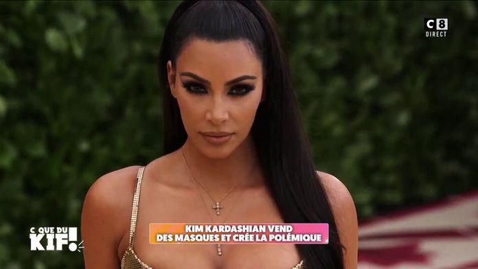 Kim Kardashian vend des masques à 8 dollars et crée la polémique