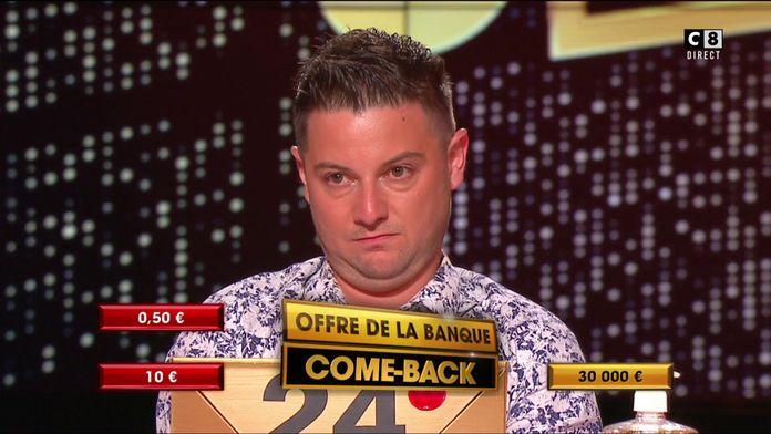 """Pour la première fois dans """"À prendre ou à laisser"""", le banquier propose à Fabien un """"come-back"""""""