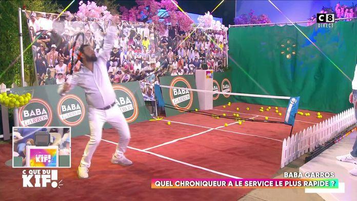 """Baba Garros"" : Quel chroniqueur portera la tenue d'Andre Agassi durant toute l'émission ?"